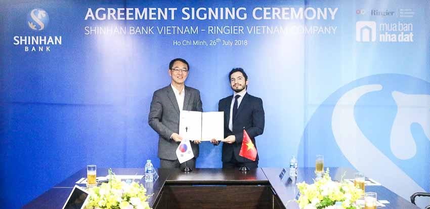 Ngân hàng Shinhan hợp tác cùng MuaBanNhaDat.vn
