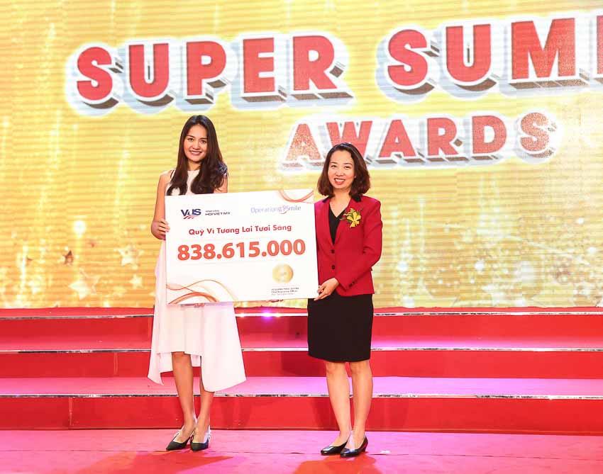 Lễ tổng kết và trao giải Super Summer Awards 2018 của VUS