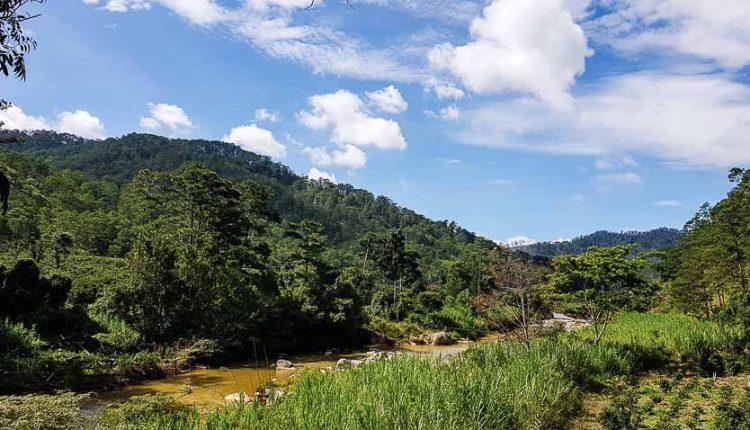 Những đoạn khác nhau của dòng sông Đa Nhim