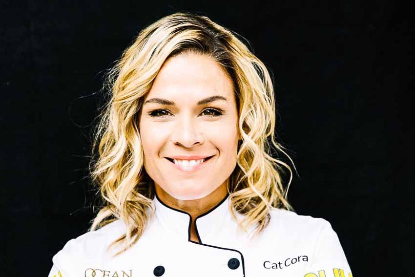 Cat Cora, Celebrity Chef, Ocean Restaurant