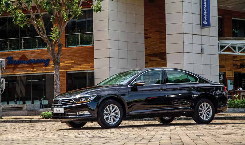 Mức giá bán Passat BlueMotion Comfort của Volkswagen