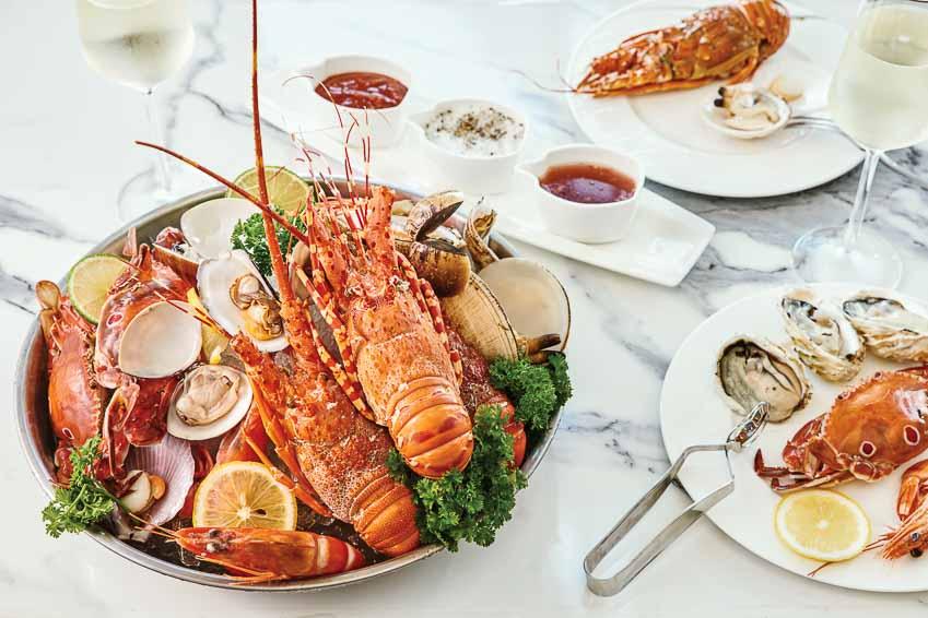 Yến tiệc hải sản tại Nhà hàng Table 88
