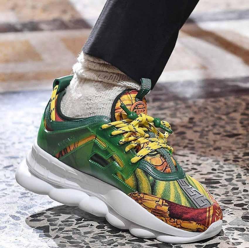 Sneaker Chain Reaction của Versace thu hút tín đồ thời trang-6