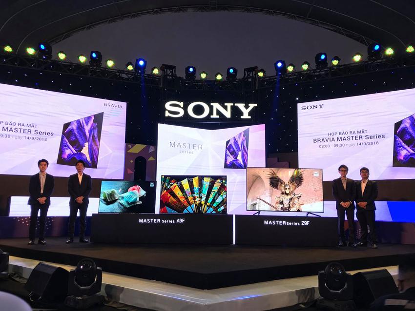 Sony chính thức ra mắt bộ đôi TV MASTER Series A9F và Z9F, giá từ 69 triệu