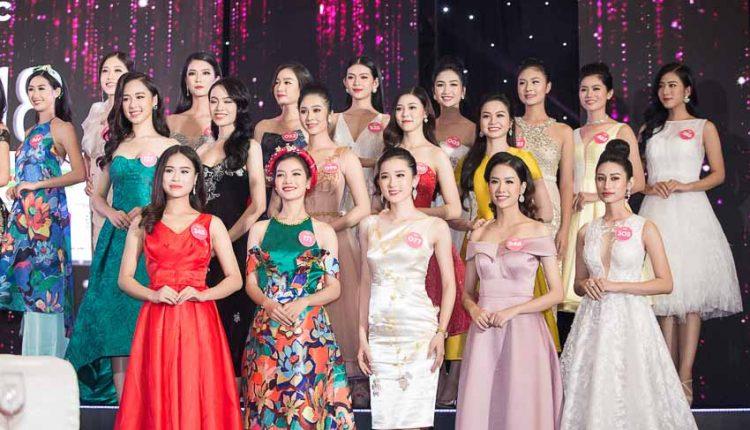 Top 43 thí sinh Hoa hậu Việt Nam 2018