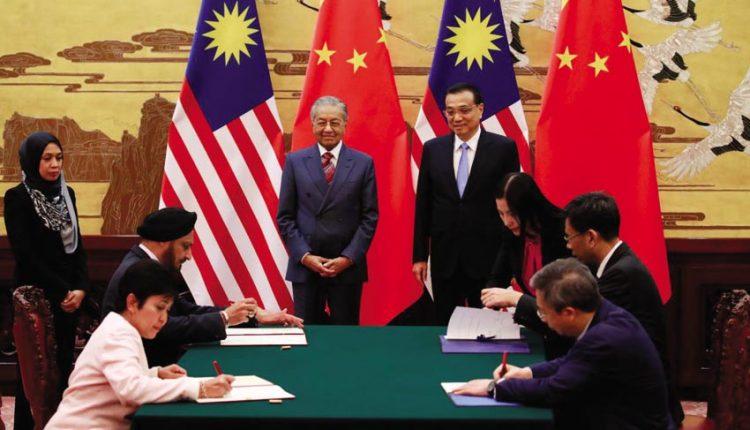 DNP772-ong-Mahathir-dua-Malaysia-thoat-khoi-no-Trung-Quoc-KTTG-2018