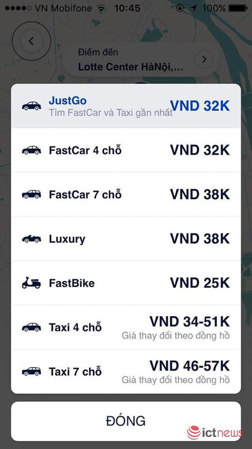DNP-FastGo-hop-tac-cung-35-hang-taxi-truyen-thong-ra-tinh-nang-JustGo-1