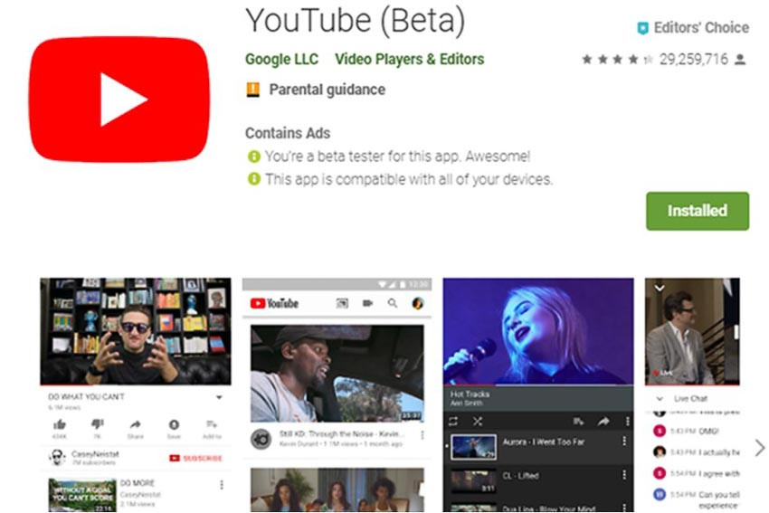 DNP-Youtube-ra-mat-chuong-trinh-beta
