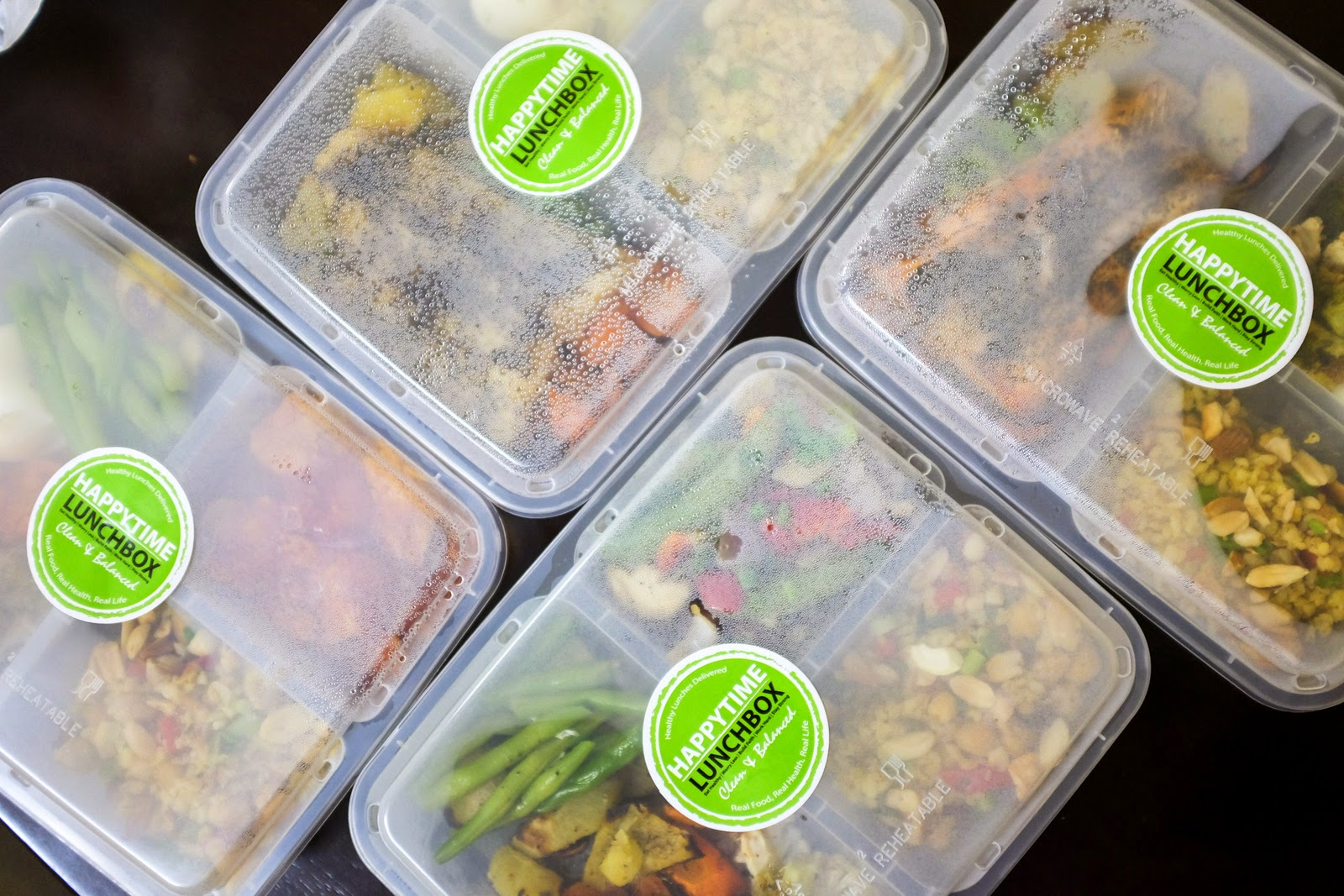 HappyTime Kitchen Lunchbox Deliveries của Singapore