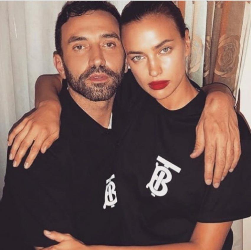 dàn fashionista thế giới theo xu hướng áo thun in logo của Burberry 2