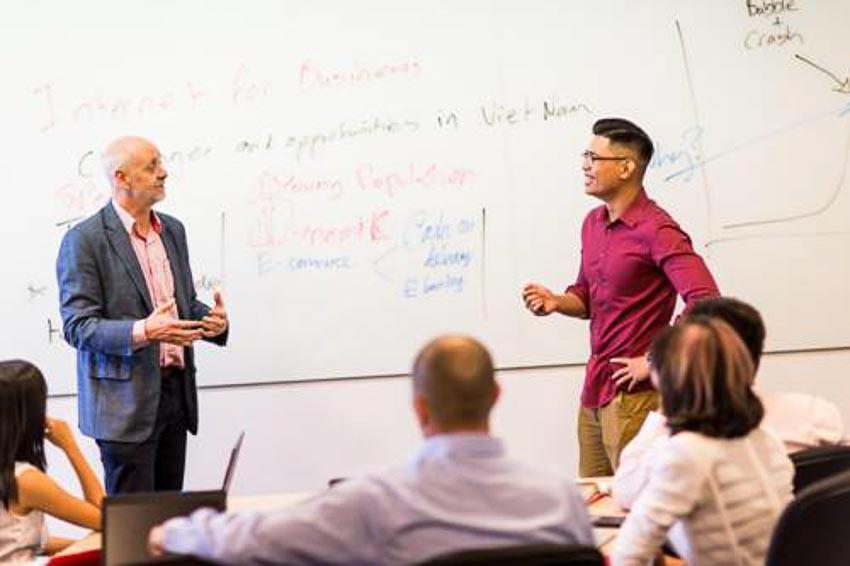 Các môn học của chương trình EMBA hỗ trợ học viên