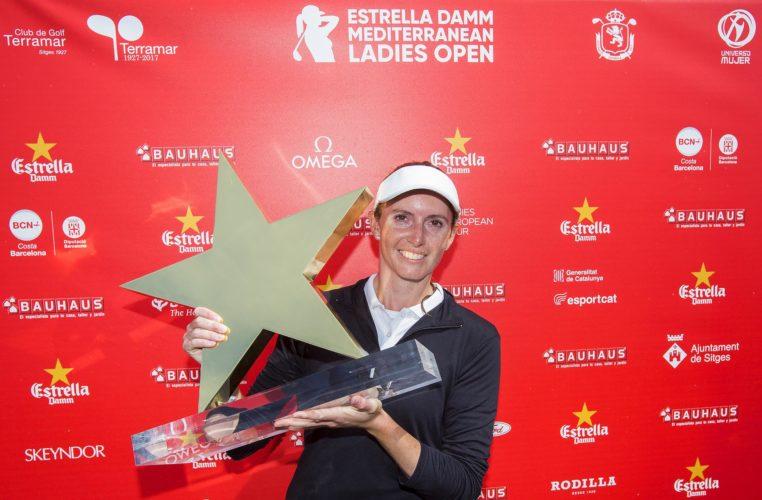 Vận động viên Florentyna Parker tại giải Ladies European Tour.