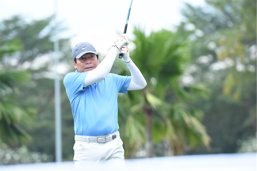 Ông Phạm Phú Ngoc Trai – Nguyên Chủ tịch PepsiCo Đông Dương và hiện là Chủ tịch Hội Gôn Thành Phố Hồ Chí Minh tham gia thi đấu