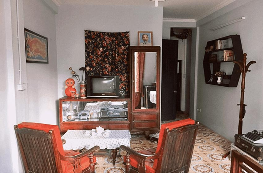 Top 5 homestay phong cách vintage ấn tượng tại Hà Nội 4