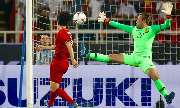 ĐT Việt Nam thắng Malaysia 2-0