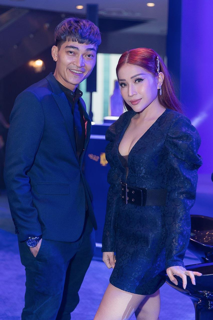 diễn viên Khương Ngọc và Khả Như