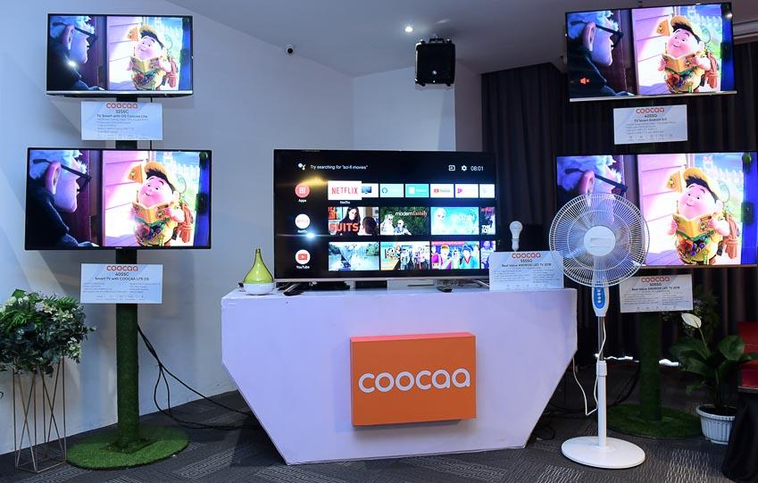 Coocaa vào VN với 5 dòng sản phẩm TV chủ lực 1