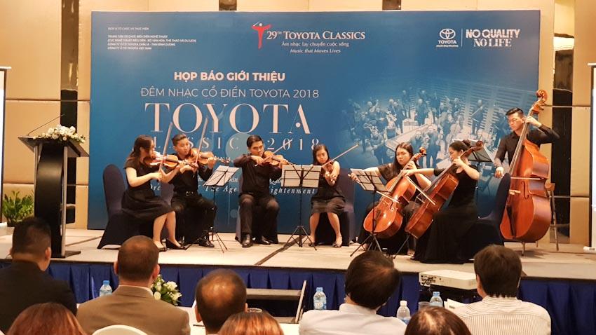 đêm nhạc Cổ điển Toyota 2018 2