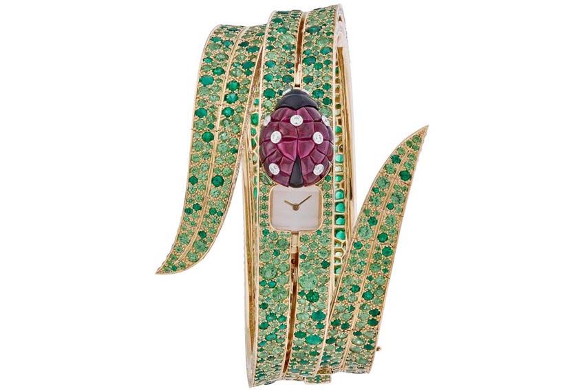 Jewelry Watch Prize - Đồng hồ kim hoàn - Van Cleef & Arpels, Secret de Coccinelle