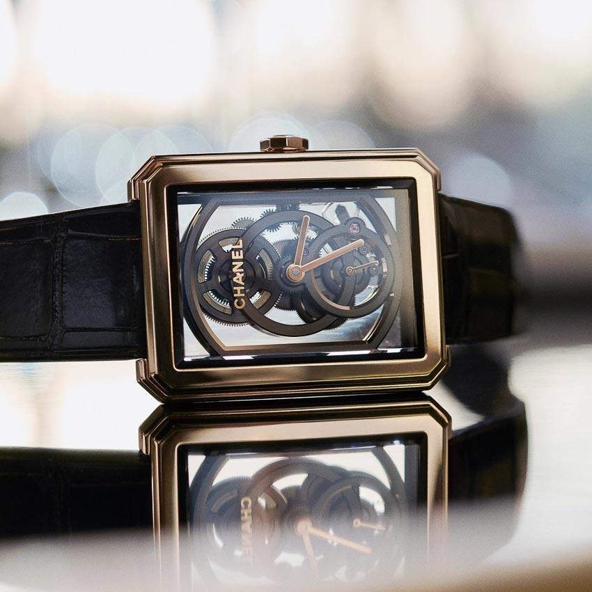 Ladies' Watch Prize - Đồng hồ nữ - Chanel, Boy-friend Skeleton