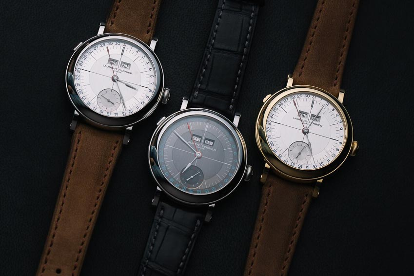 Men's Complication - Đồng hồ nam với tính năng (khác Giờ/Phút/Giây) - Laurent Ferrier, Galet Annual Calendar School Piece