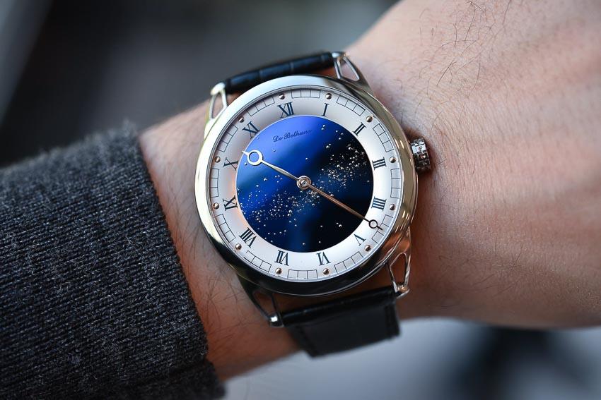 Chronometry Watch Prize - Giải thưởng Độ chính xác - De Bethune, DB25 Starry Varius Chronomètre Tourbillon