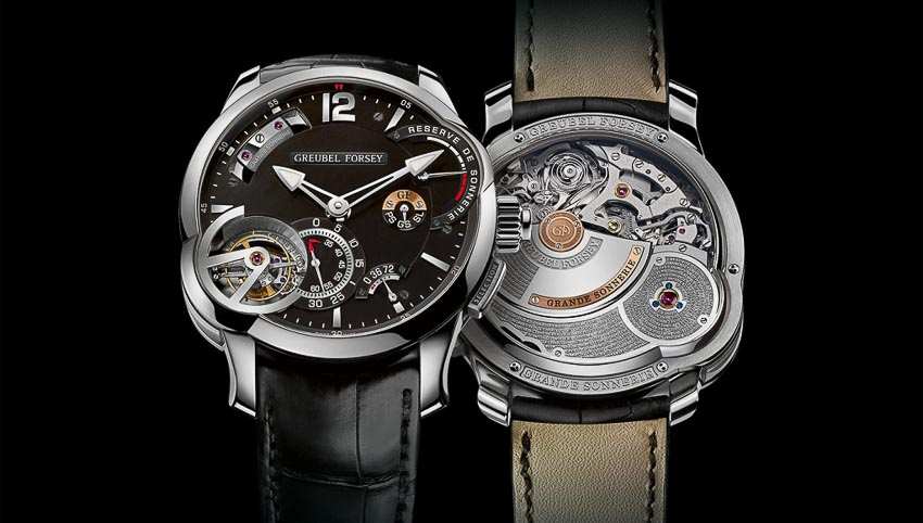 Mechanical Exception Watch Prize - Đồng hồ sở hữu cơ chế rất đặc biệt - Greubel Forsey, Grande Sonnerie