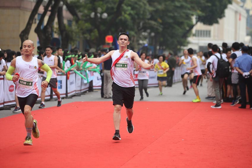 Giải chạy tiếp sức Vietnam Kizuna Ekiden 2018 4