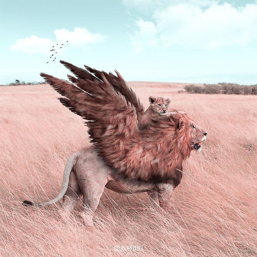 Ảnh động vật qua photoshop 3