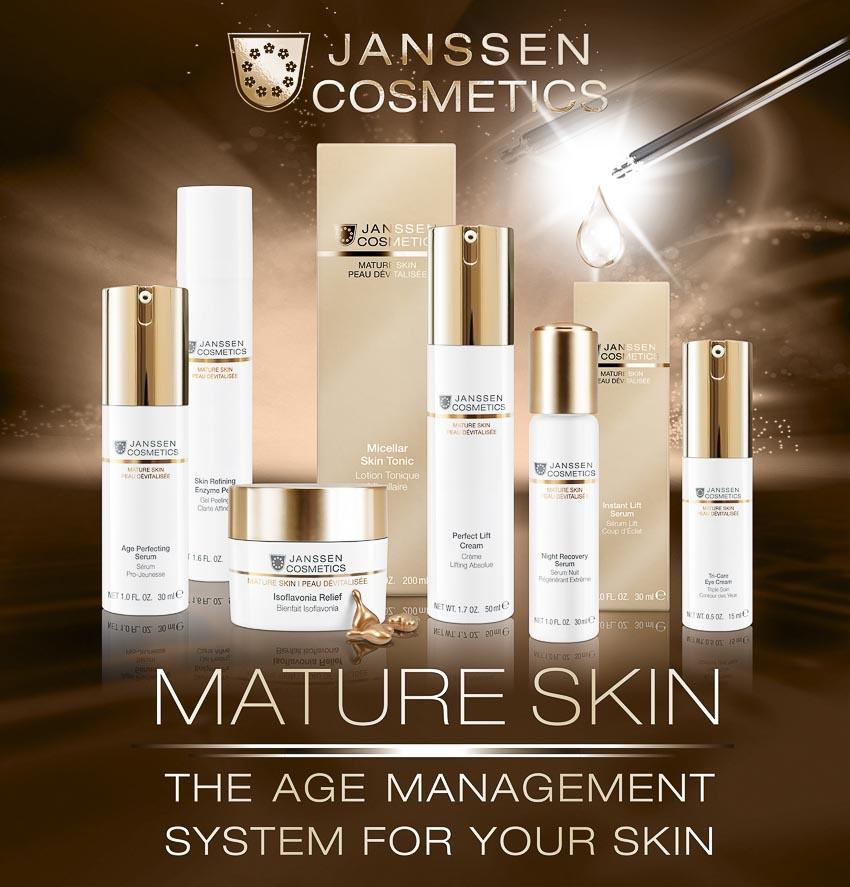 Mature Skin của Janssen Cosmetics giúp chống lã o hóa