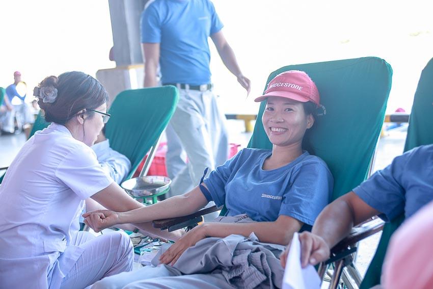 Ngày hội thể thao và hiến máu ở Bridgestone Việt Nam 2