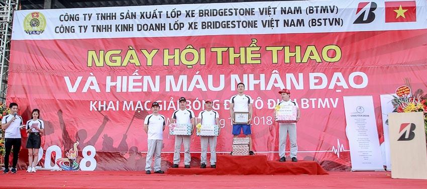 Ngày hội thể thao và hiến máu ở Bridgestone Việt Nam 6