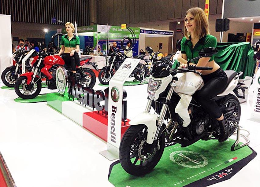 Bỏ cấp phép nhập khẩu tự động với xe máy phân khối lớn