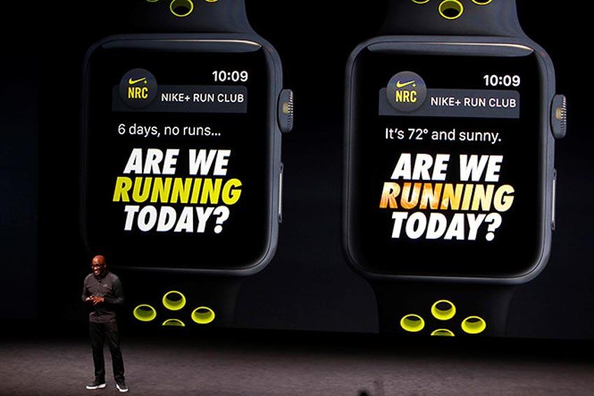 Nike ra mắt 3 phiên bản dây mới cho Apple Watch Nike+ 3