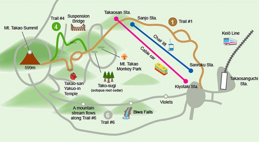 Núi Takao ở Tokyo 7