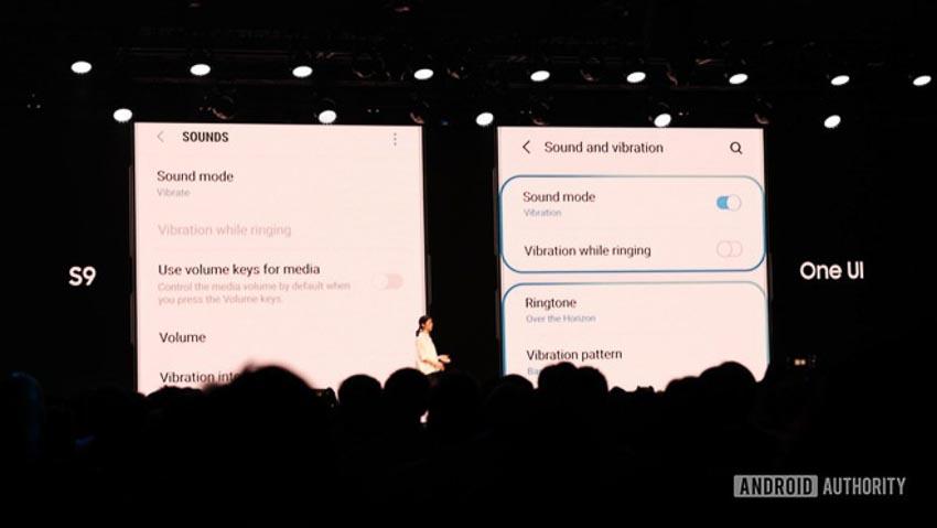 Giao diện mới One UI của Samsung 4