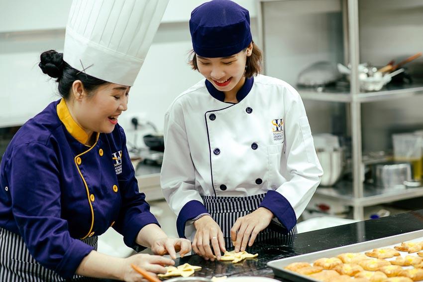 Học viên được học tập, làm việc trong môi trường chuyên nghiệp