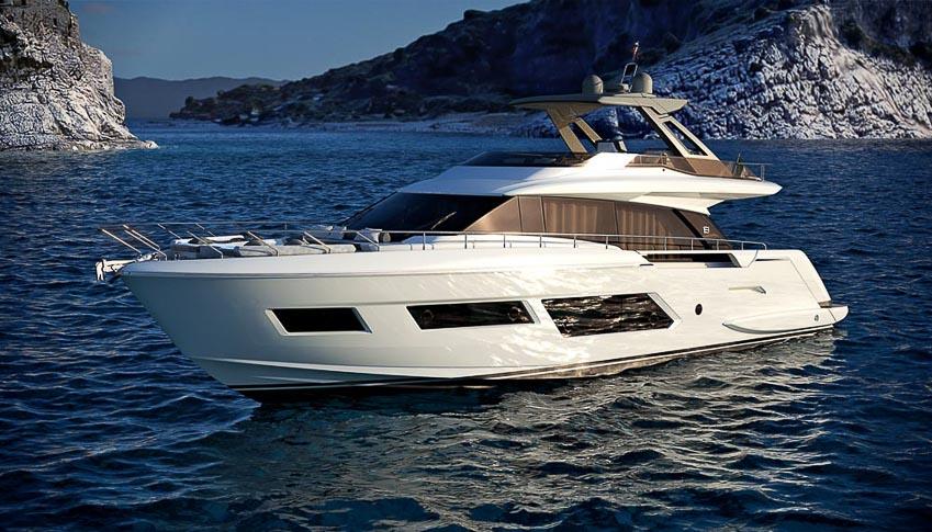 siêu du thuyền Ferretti Yachts 670 1