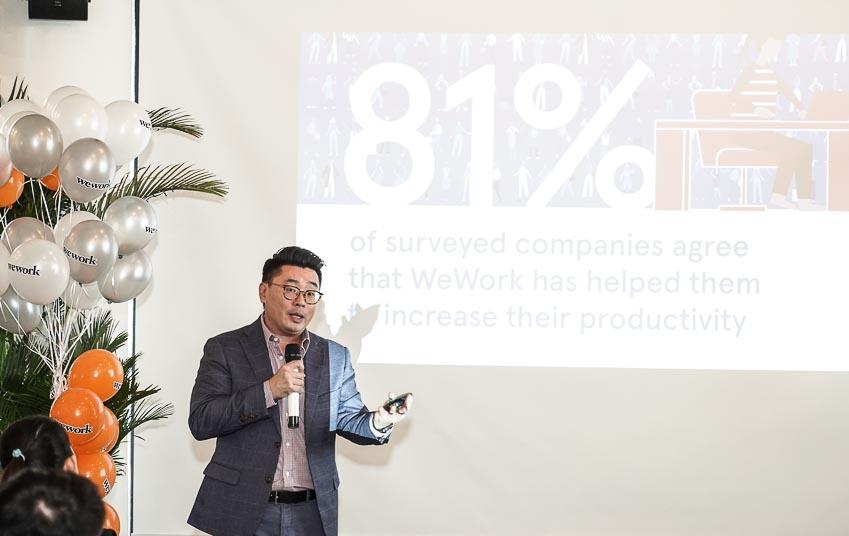Văn phòng chia sẻ WeWork ra mắt tại thị trường VN 1