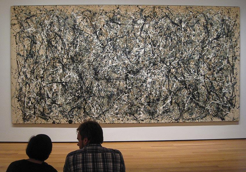 Bức tranh khổ lớn Số 31 tại Bảo tàng MoMA
