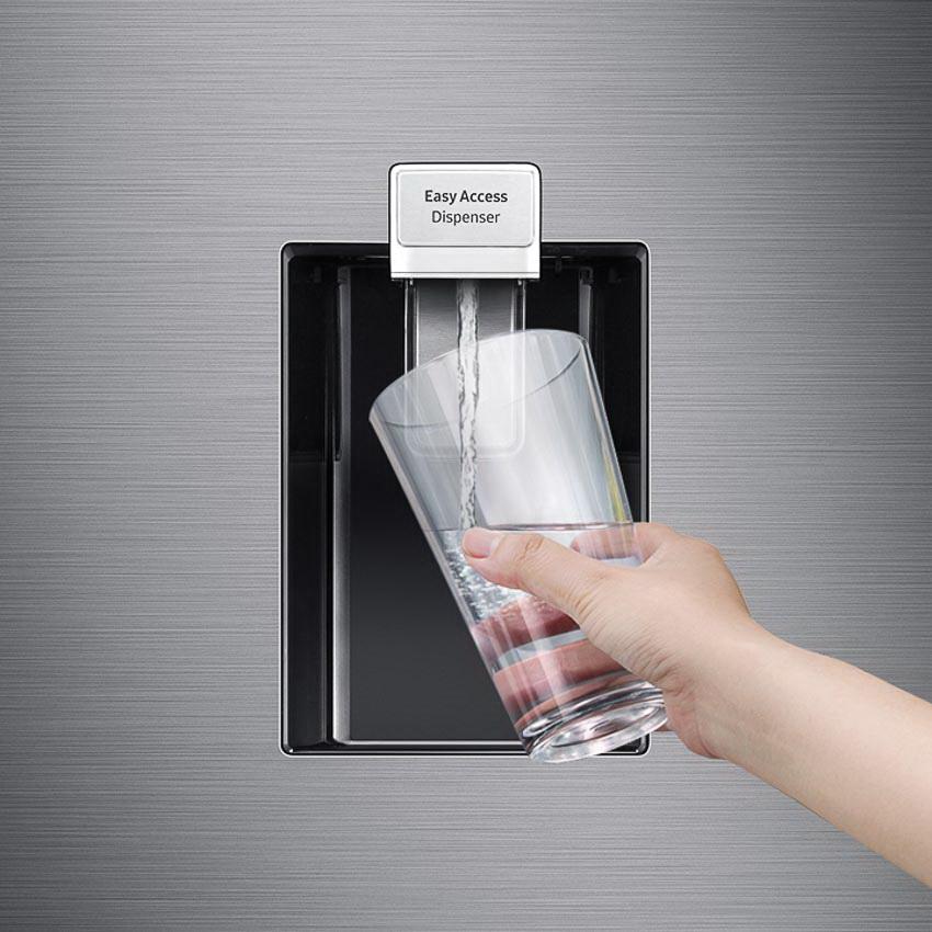 Tủ lạnh ngăn đông dưới mới nhất của Samsung nổi bật với ngăn đông mềm Optimal Fresh Zone giữ thực phẩm trọn vị tươi ngon 6