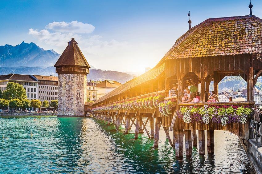 Thong dong sống chậm ở Lucerne