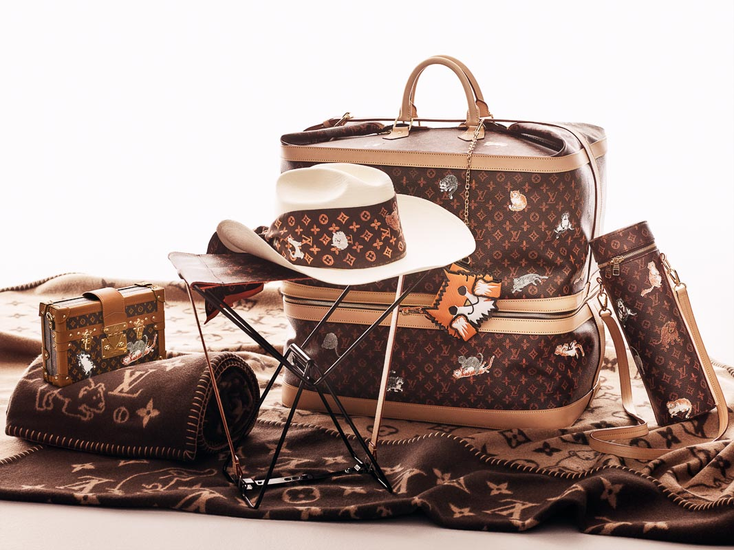 Louis Vuitton giới thiệu bộ sưu tập hợp tác cùng Grace Coddington
