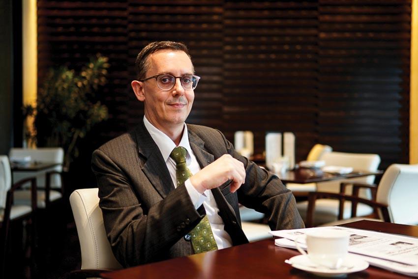 Ông Morgan Layberry - Tổng quản lý Khách sạn Holiday Inn & Suites Saigon Airport