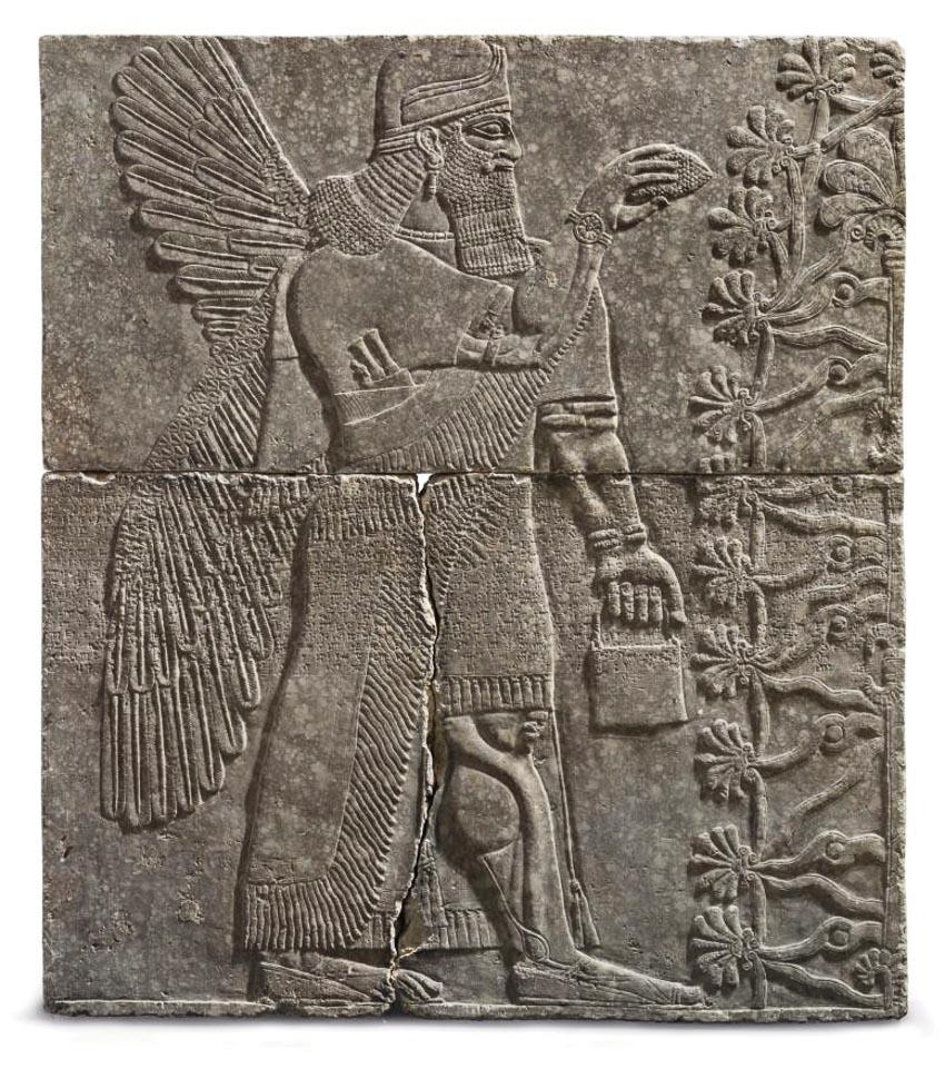 Bức chạm khắc có giá 31 triệu USD (kích thước 223,5 x 195,5cm)