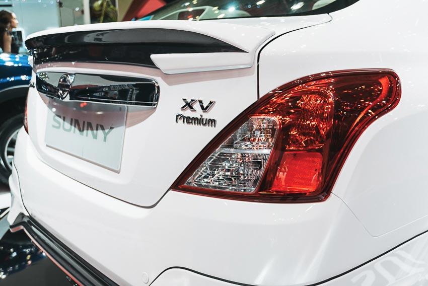 Đuôi xe Nissan Sunny Q-Series 3