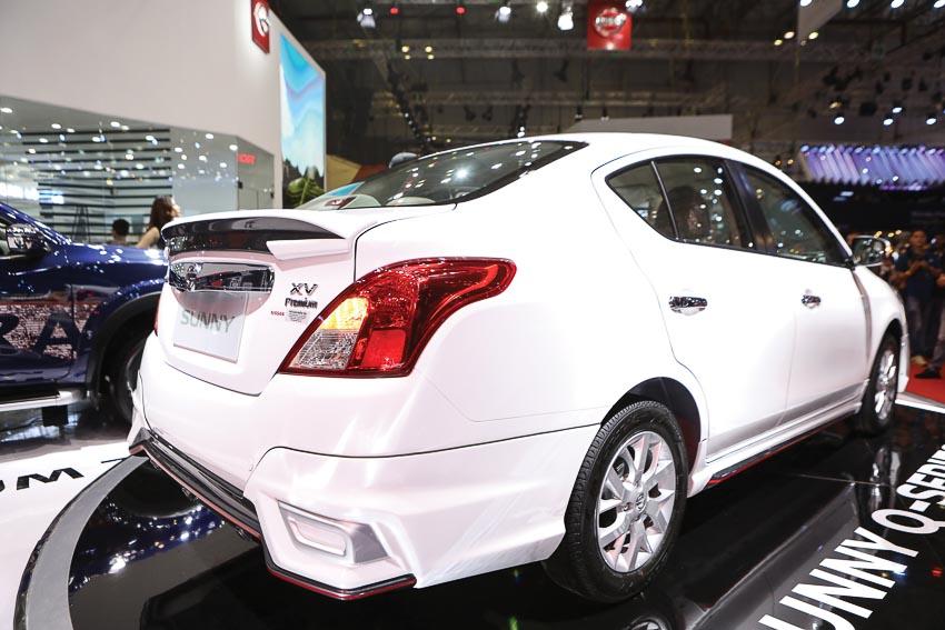 Đuôi xe Nissan Sunny Q-Series 1