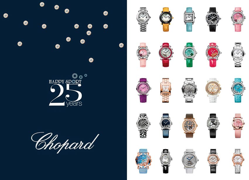 25 năm Chopard Happy Sport 1
