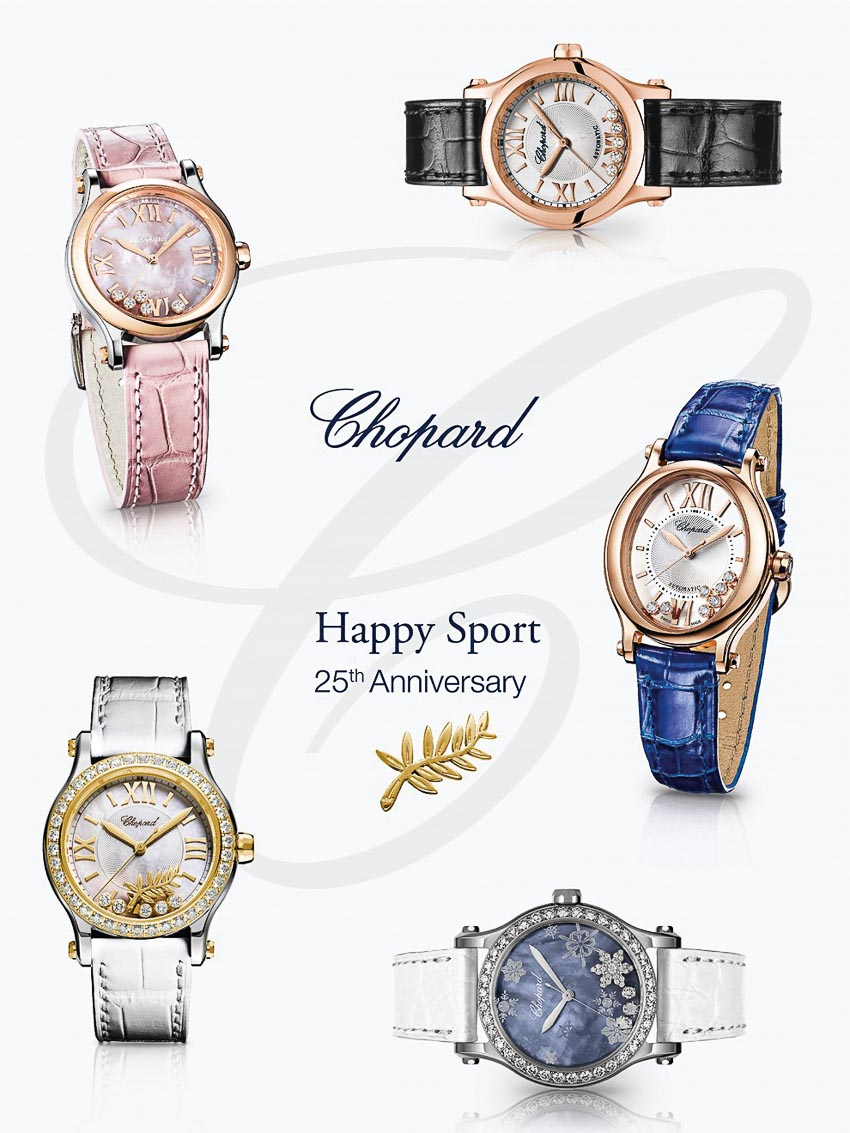 25 năm Chopard Happy Sport 2