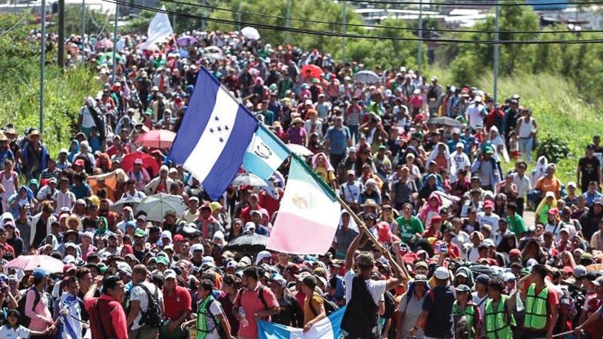 ba quốc gia ở vùng Trung Mỹ tìm cách nhập lậu vào Hoa Kỳ